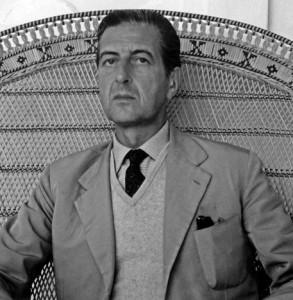 Fabrizio Clerici negli anni 50 (foto ©ARCHIVIO FABRIZIO CLERICI)